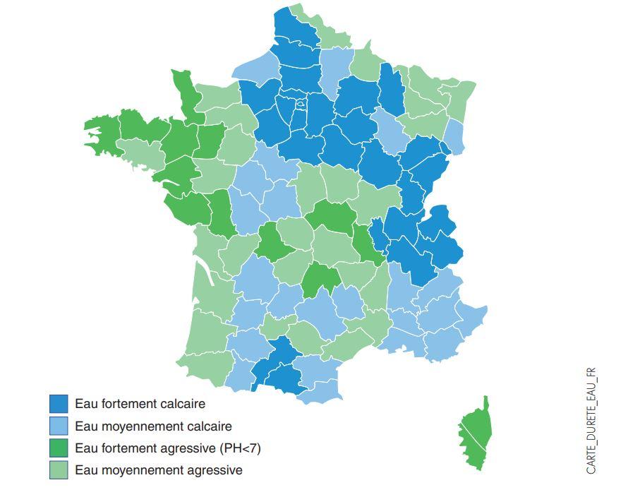 Carte-durete-eau-par-departement-France-quel-chauffe-eau-électrique-choisir