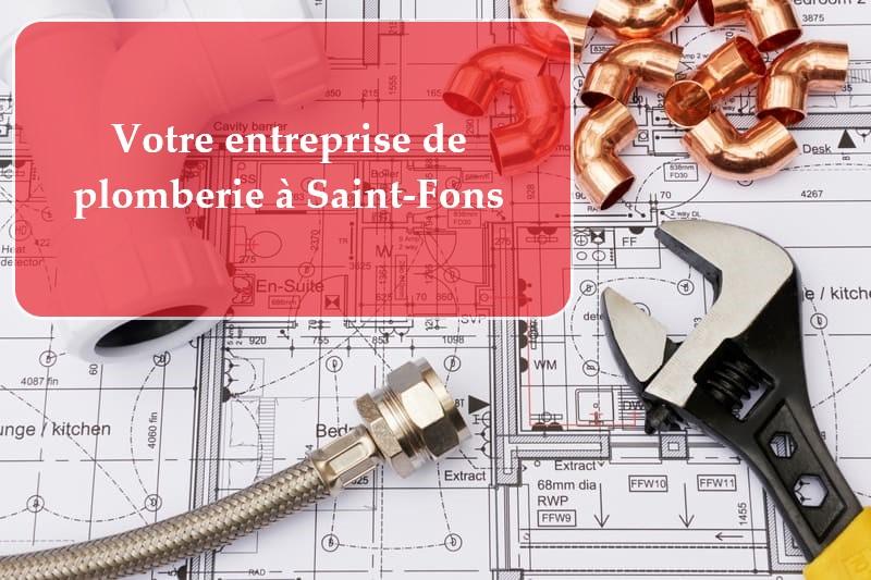Plombier Saint-Fons