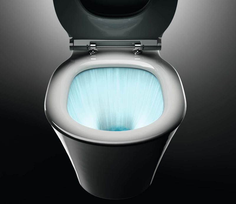 Le WC en ceramique anti-salissures