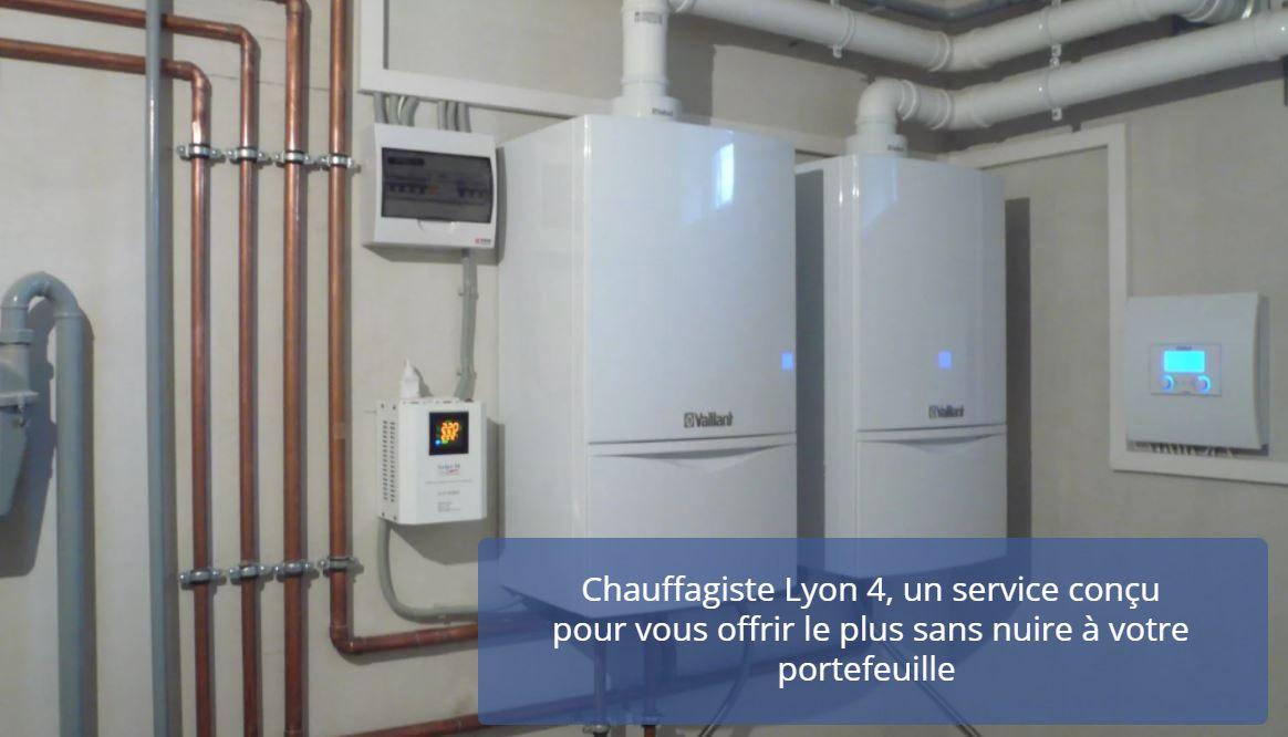 Chauffagiste Lyon 4