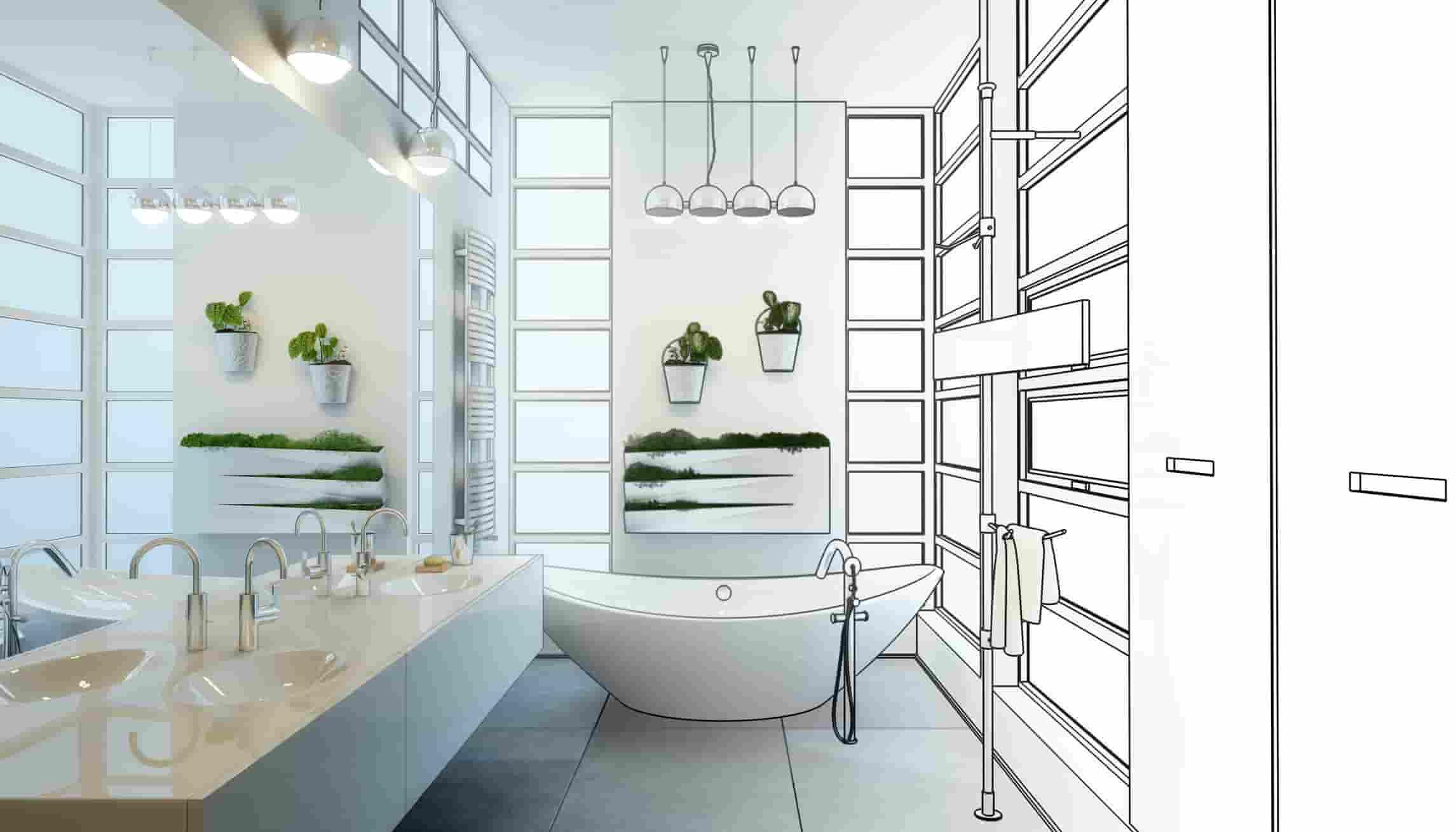 Rénovation salle de bain à Lyon, partielle ou complète